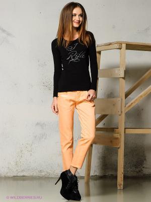 Капри MONDIGO. Цвет: персиковый