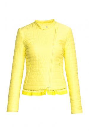 Куртка 143054 Anna Rita N. Цвет: желтый