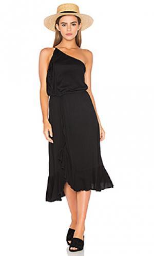 Платье gioannia Ella Moss. Цвет: черный