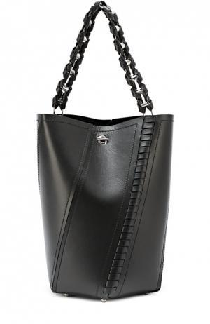 Кожаная сумка Hex Medium с косметичкой Proenza Schouler. Цвет: черный