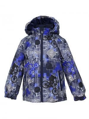 Куртка для детей JODY HUPPA. Цвет: темно-синий, синий