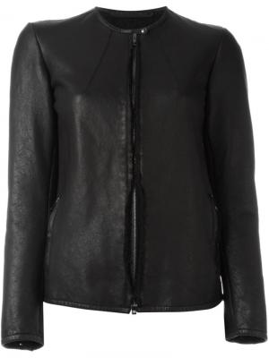 Cropped jacket Salvatore Santoro. Цвет: чёрный