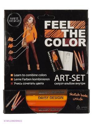 Альбом Autumn Mix of FEEL THE COLOR Daisy Design. Цвет: коричневый