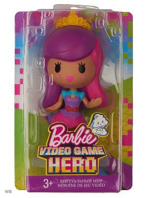 Маленькие куклы из серии Barbie и виртуальный мир. Цвет: фиолетовый