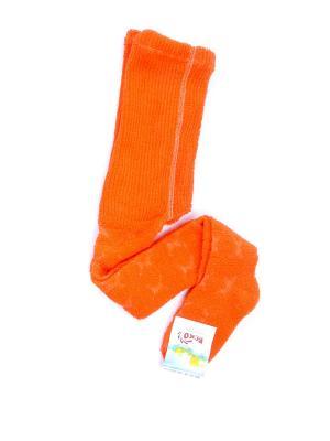 Колготки ЕСКО. Цвет: оранжевый