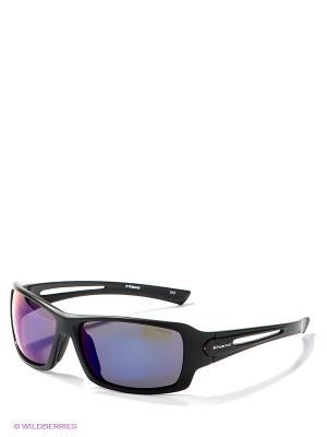 Солнцезащитные очки Polaroid. Цвет: черный, синий
