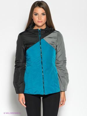Куртка DOCTOR E. Цвет: морская волна, серый, черный