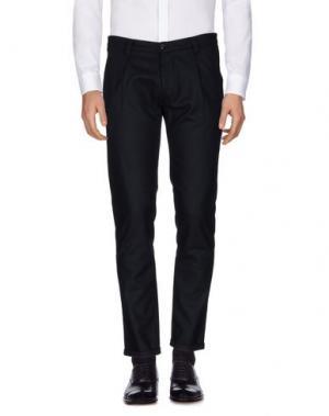 Повседневные брюки OFFICINA 36. Цвет: темно-синий