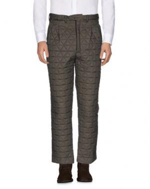 Повседневные брюки LC23. Цвет: зеленый-милитари