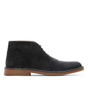 Ботинки кожаные  Lord HUSH PUPPIES. Цвет: синий морской