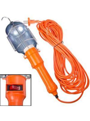 Лампа переносная Ермак. Цвет: оранжевый