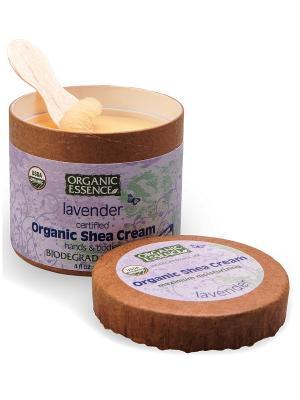 Органический крем Лаванда Organic Essence. Цвет: кремовый