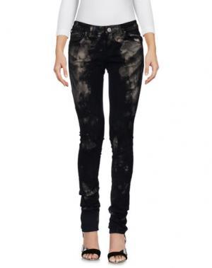 Джинсовые брюки FAGASSENT. Цвет: черный