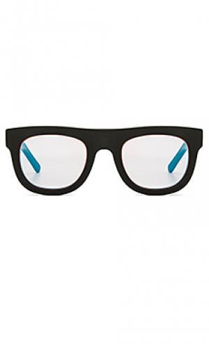 Солнцезащитные очки pharaoh WESTWARD LEANING. Цвет: черный