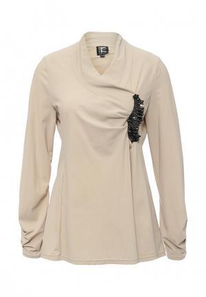 Блуза Tricot Chic. Цвет: бежевый