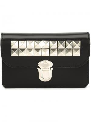 Бумажник с заклепками Comme Des Garçons Wallet. Цвет: чёрный