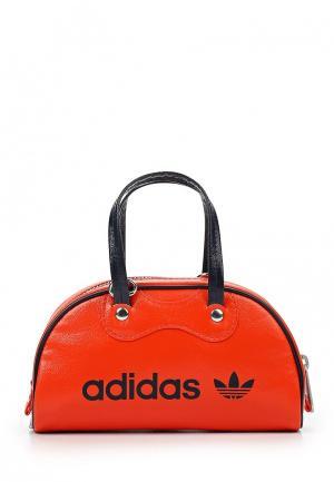 Сумка adidas Originals. Цвет: оранжевый