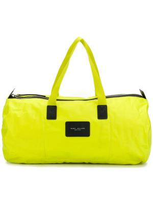 Дорожная сумка с логотипом Marc Jacobs. Цвет: жёлтый и оранжевый