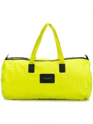 Logo holdall Marc Jacobs. Цвет: жёлтый и оранжевый