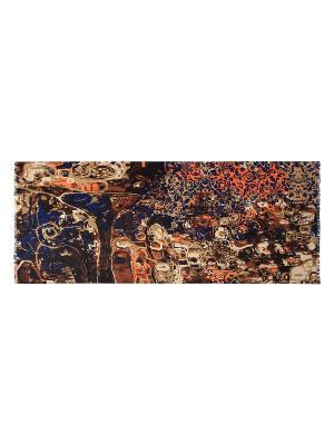 Палантин Labbra. Цвет: коричневый, оранжевый, синий