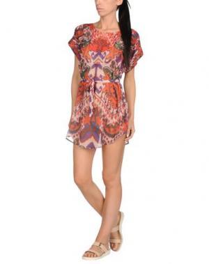 Пляжное платье JUST CAVALLI BEACHWEAR. Цвет: оранжевый