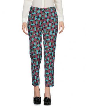 Повседневные брюки LAURA URBINATI. Цвет: бирюзовый