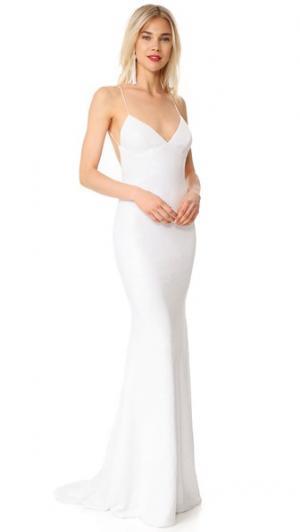 Вечернее платье Sequence Naked Lanai Katie May. Цвет: золотой