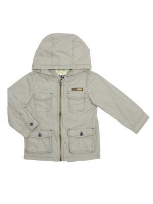 Куртка CHICCO. Цвет: серый