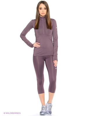 Бриджи W NP CPRI Nike. Цвет: фиолетовый, серый
