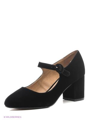 Туфли Mariamare. Цвет: черный