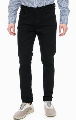 Зауженные черные джинсы с низкой посадкой Marc O'Polo. Цвет: черный