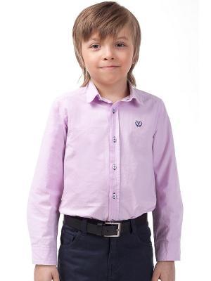 Рубашка Vilatte. Цвет: сиреневый