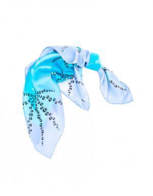 Платок Bino Tiani. Цвет: голубой