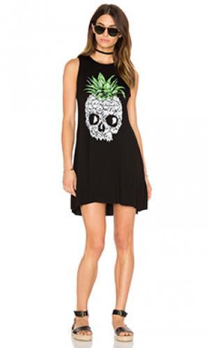 Платье без рукавов deanna Lauren Moshi. Цвет: черный