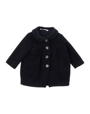 Пальто LE PETIT COCO. Цвет: темно-синий