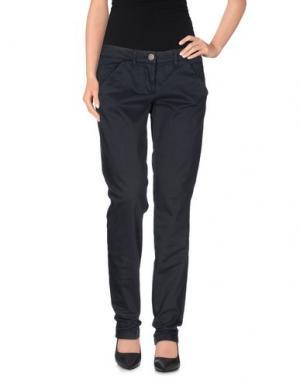 Повседневные брюки L'AIR DE RIEN. Цвет: стальной серый
