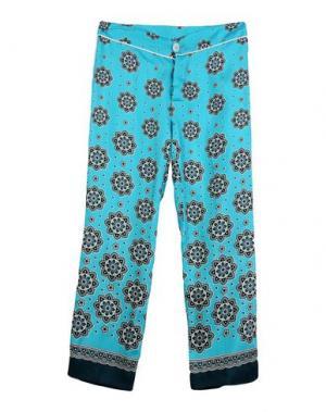Повседневные брюки F.R.S. FOR RESTLESS SLEEPERS. Цвет: лазурный