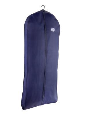 Чехол для меховой и верхней одежды 145х60х10см NIKLEN. Цвет: синий