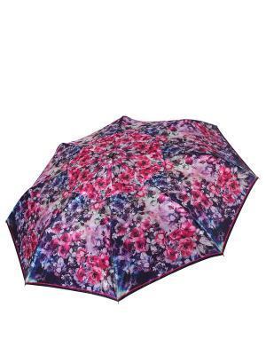 Зонт Fabretti. Цвет: синий, фуксия