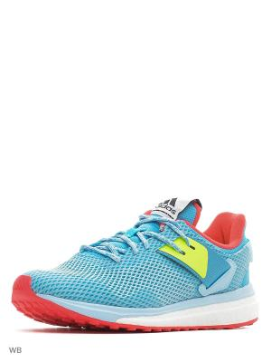 Кроссовки жен. Response 3 w Adidas. Цвет: синий