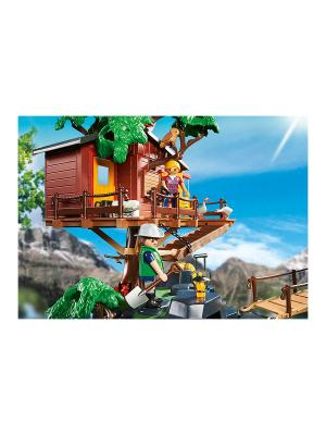 В Поисках Приключений: Дом на дереве Playmobil. Цвет: зеленый, коричневый