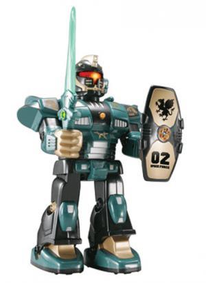 Робот-воин Hap-P-Kid. Цвет: зеленый (осн.)