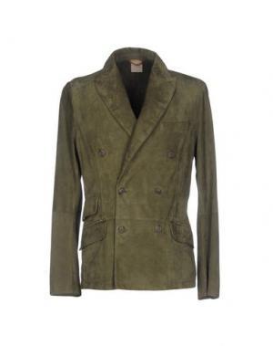 Пиджак D'AMICO. Цвет: зеленый-милитари