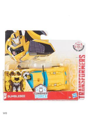 Робот Transformers. Цвет: лазурный, желтый