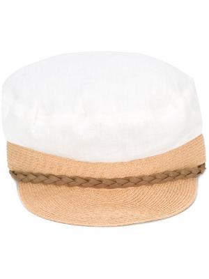 Тканевая кепка Kijima Takayuki. Цвет: телесный