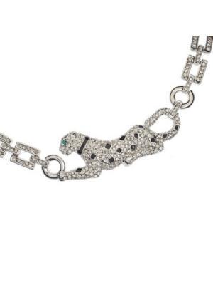 Ожерелье Пантера CHARMELLE. Цвет: серебристый, светло-серый