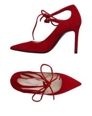 Туфли ROBERTO FESTA. Цвет: красный