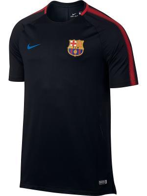 Футболка FCB M NK BRT SQD TOP SS Nike. Цвет: черный, красный