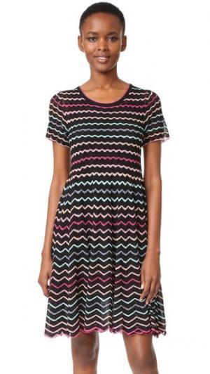Платье-комбинация Marc Jacobs. Цвет: черный мульти