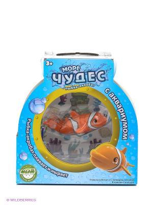 Набор Рыбка  Акробат Лаки с Аквариумом Море Чудес. Цвет: прозрачный, оранжевый